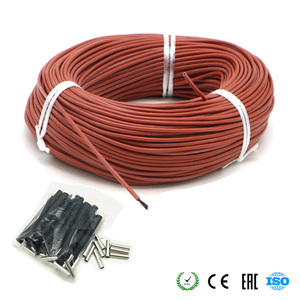 New Infrared Heating Cable 12K Carbon Warm Floor Cable Carbon Fiber Heating Wire Electric Hotline for Warm Floor Greenhouse