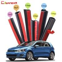 Car 4 Door Trunk Hood Rubber Sealing Seal Strip Kit Weatherstrip Noise Insulation For VW Volkswagen