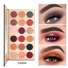 Pudaier18 Colors Eye Shadow Disc Waterproof Matte light Natural Nude Look Beginner Girl Colour System