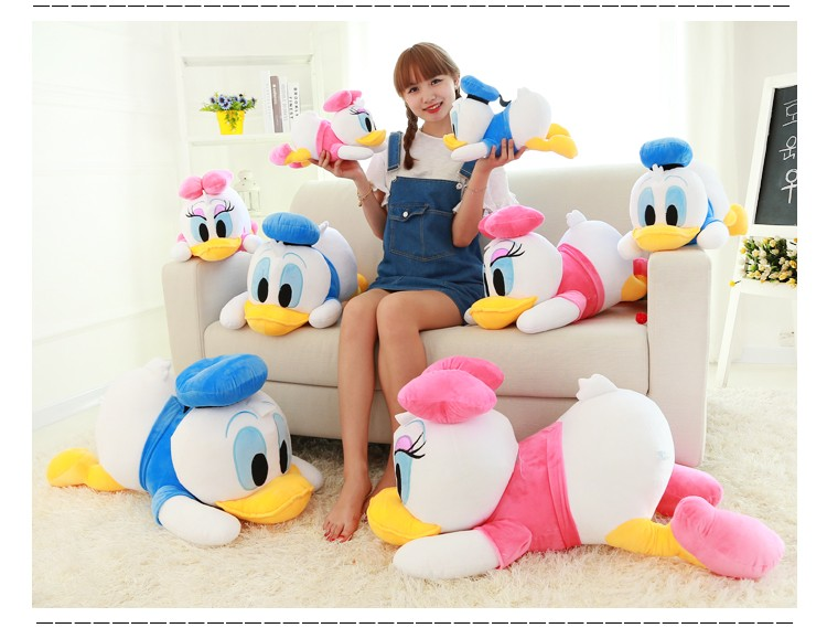 1PC 45CM DONALD  DAISY Duck PLUSH TOY Christmas Gift Valentine's Day Gift New Year TOY Children Toy
