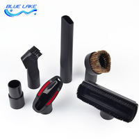 Vacuum Cleaner Nozzle Sets Round Brush Flat Suction Head Adapter Efficient And Practical Inner 32mm 35mm