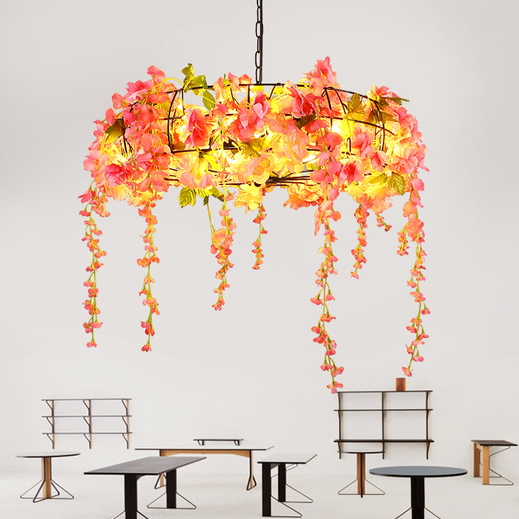 Creative chandeliers, walnuts, chandeliers, music bars, industrial chandeliers, clothing shops, coffee shops, Nordic chandeliers