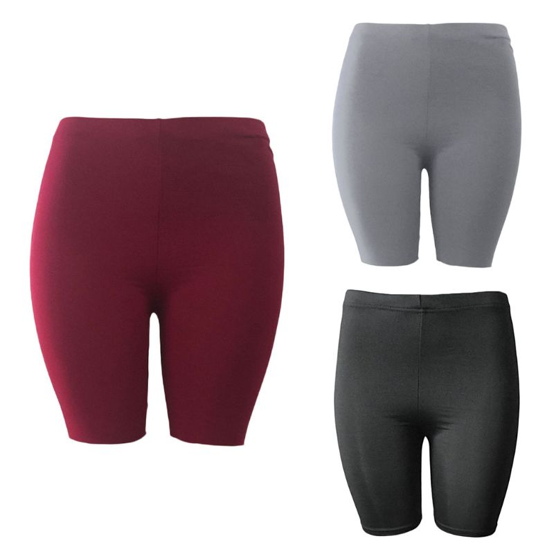 Women's Casual Outdoor Fitness Semi-slim High Waist And Quick-drying Tight Bike Shorts