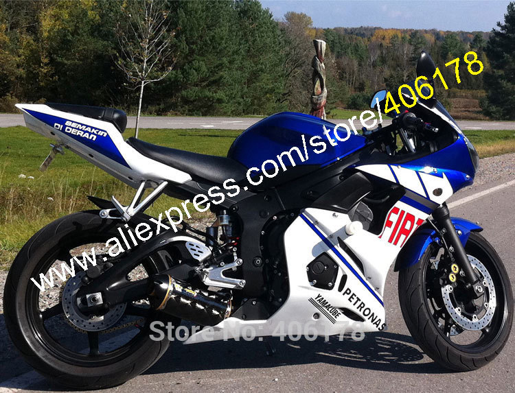 Hot sales customized injection fairing for yamaha yzf r6 for Yamaha r6 600 for sale