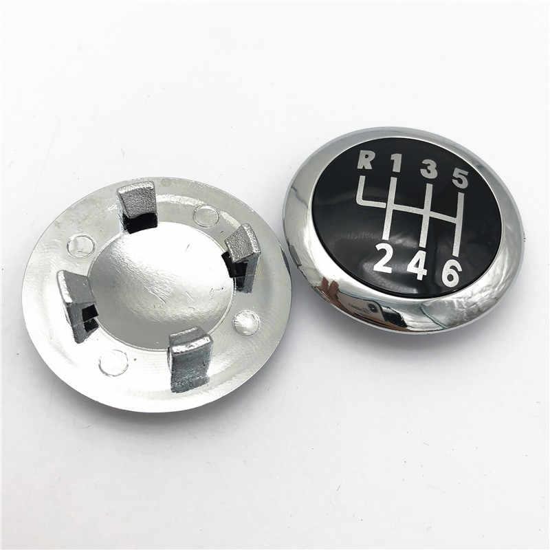 5/6 Speed Auto Styling Manual Pookknop Embleem Cap Cover Lever Stick Pen Handvat Voor Volkswagen Vw Passat B6 2005-2011