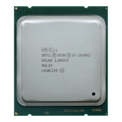 Intel Xeon E5 2650 V2 Processor 8 CORE 2.6GHz 20M 95W E5-2650 V2 SR1A8 CPU(China)