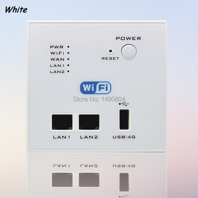 Universal Smart rj45 wall Socket 3g 4g WiFi router with USB output ...