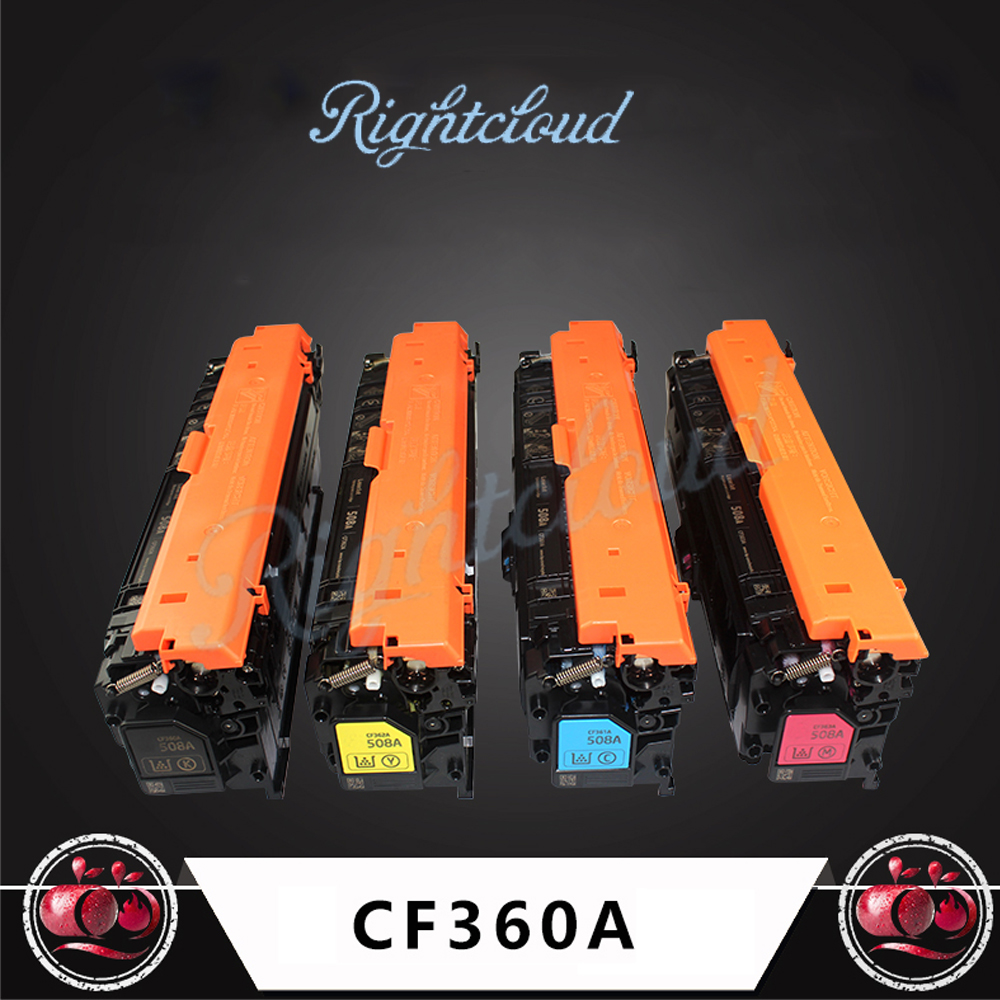 Hot For HP Color LJ M553N For HP 508X New Compatible Toner Cartridge CF360A for HP MFP M552dn/ MFP M553n/ MFP M553dn/ MFP M553x цена