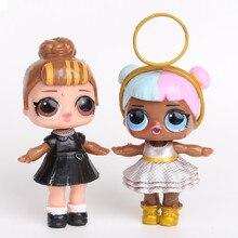 8 Pcs/lot lol boneca poupée surprise poupée action figure 8-9 cm lol poupées robe jouets pour filles cadeaux surprise poupée