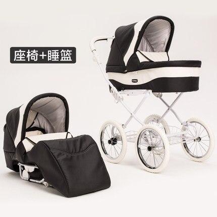 landau bébé luxe