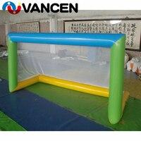 Porta tiro VANCEN inflável jogo de futebol/futebol inflável objetivo/crianças inflável objetivo de futebol