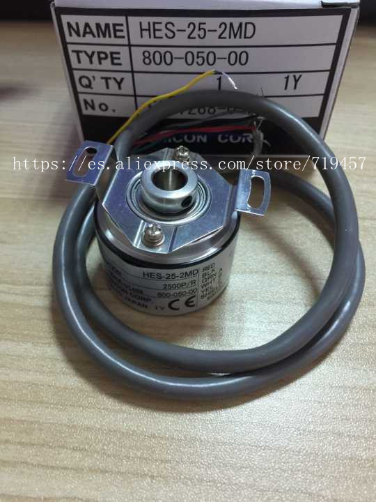 FREE SHIPPING %100 NEW Hollow Encoder 2500 Line Hes-25-2md