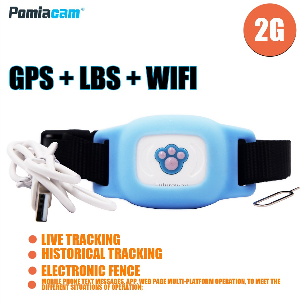 FP03W Gog Squirrel GPS Collar IP67 Waterproof Cat Dog Animal GPS Tracker Collar Tracking Device GPS LBS WIFI Loss Prevention