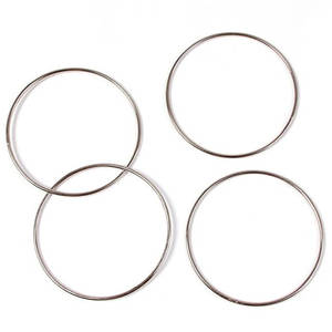 Rings Magic-Tools Tricks-Kit Linking Party Show 1set 10cm--10cm/3.93-3.93 Connected