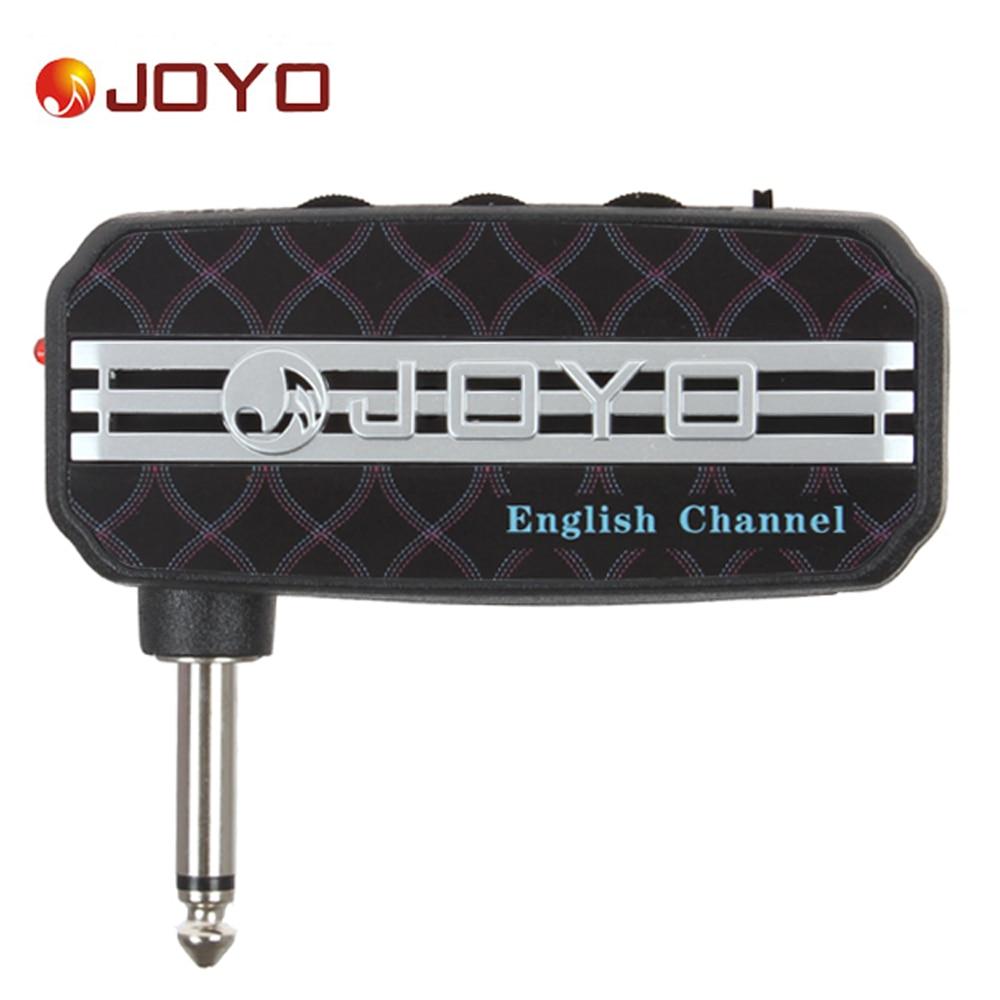 JOYO Ja-03 English Channel Portable Mini Guitar Amplifier Plug Headphone Amp Clean Distortion Sound Effect with Earphone Output