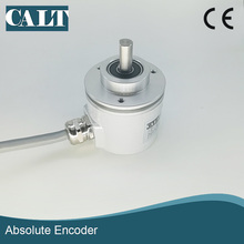 High precision SSI interface Gray code 12 bits CAS60R12E10SGB IP67 clamping solid shaft single turn absolute rotary encoder trd na1024pw5m gray code absolute rotary encoder