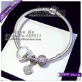 S925 Sterling Silver Three-piece bracelet Jewelry Sets charm jewelry and women Charm Bracelets & Bangles Gift YL100-CP02