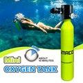 Equipo de Buceo Mini buceo cilindro de buceo tanque de oxígeno adaptador buceo respirar bajo el agua accesorio