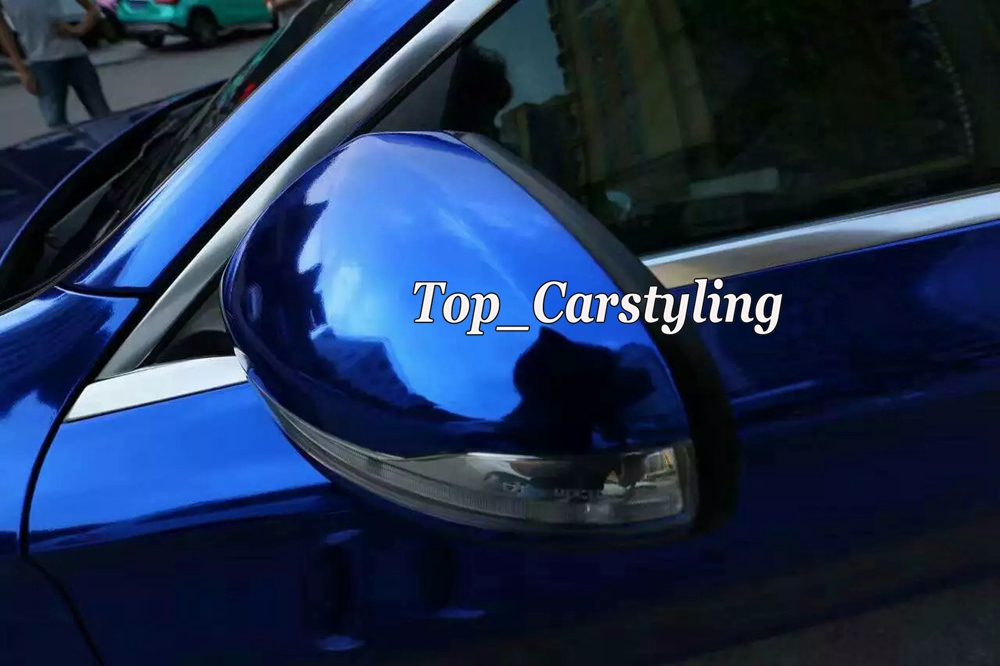 chrome blue mirror stm hexis car wrapping film high stretchable flexible (5)