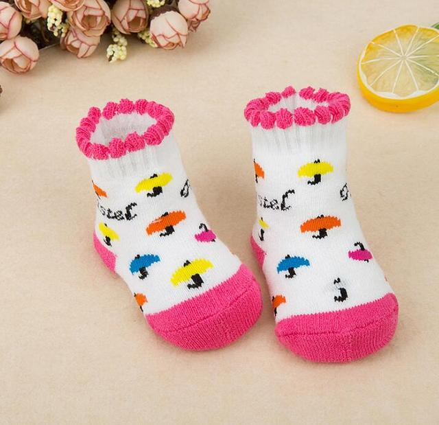 Cotton Winter Socks for Infants Babies