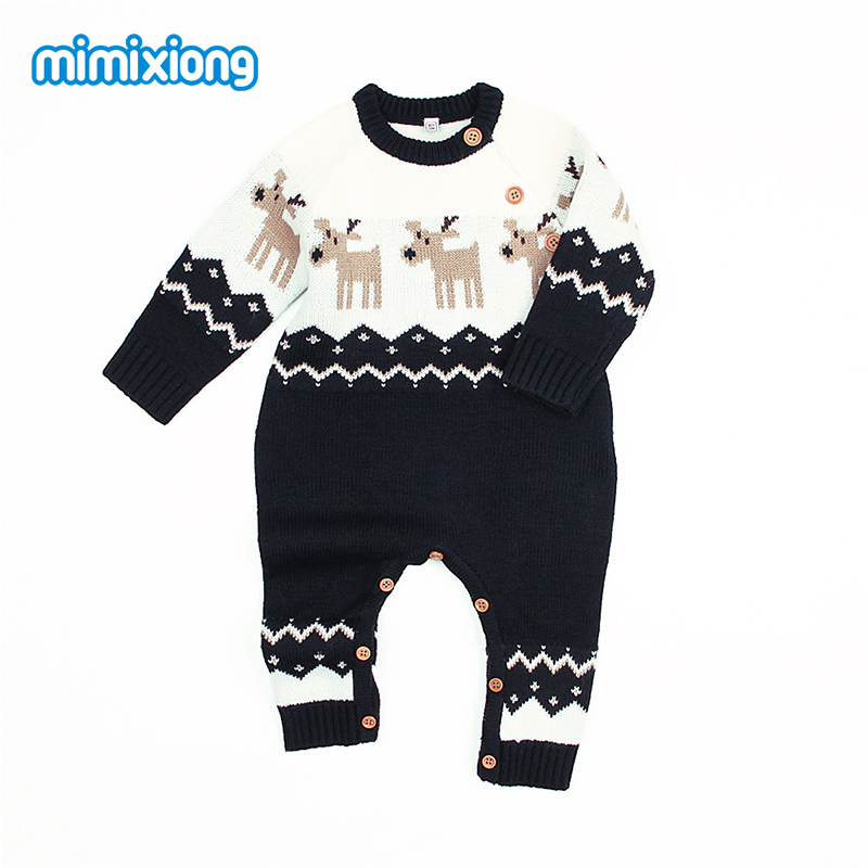 Children One Piece Overalls For Newborn Baby Boys Girls Christmas Costumes Animal Style Infant Kids   Rompers   Jumpsuits With Deer