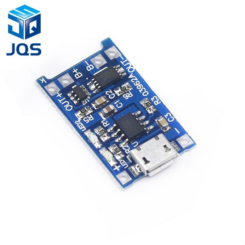 Charging Board Protection 2PCS 18650 Lithium Battery 5V 1A Micro USB