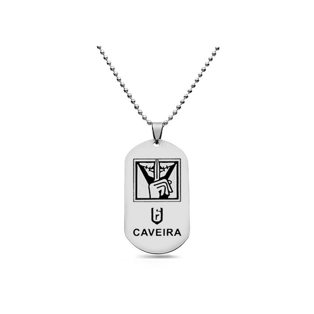 New Game Rainbow Six Siege Necklace Beads Chain Pendants 20 Model Dog Tag Pendnat Necklaces Men Women Gift Fashion Jewelry Kolye