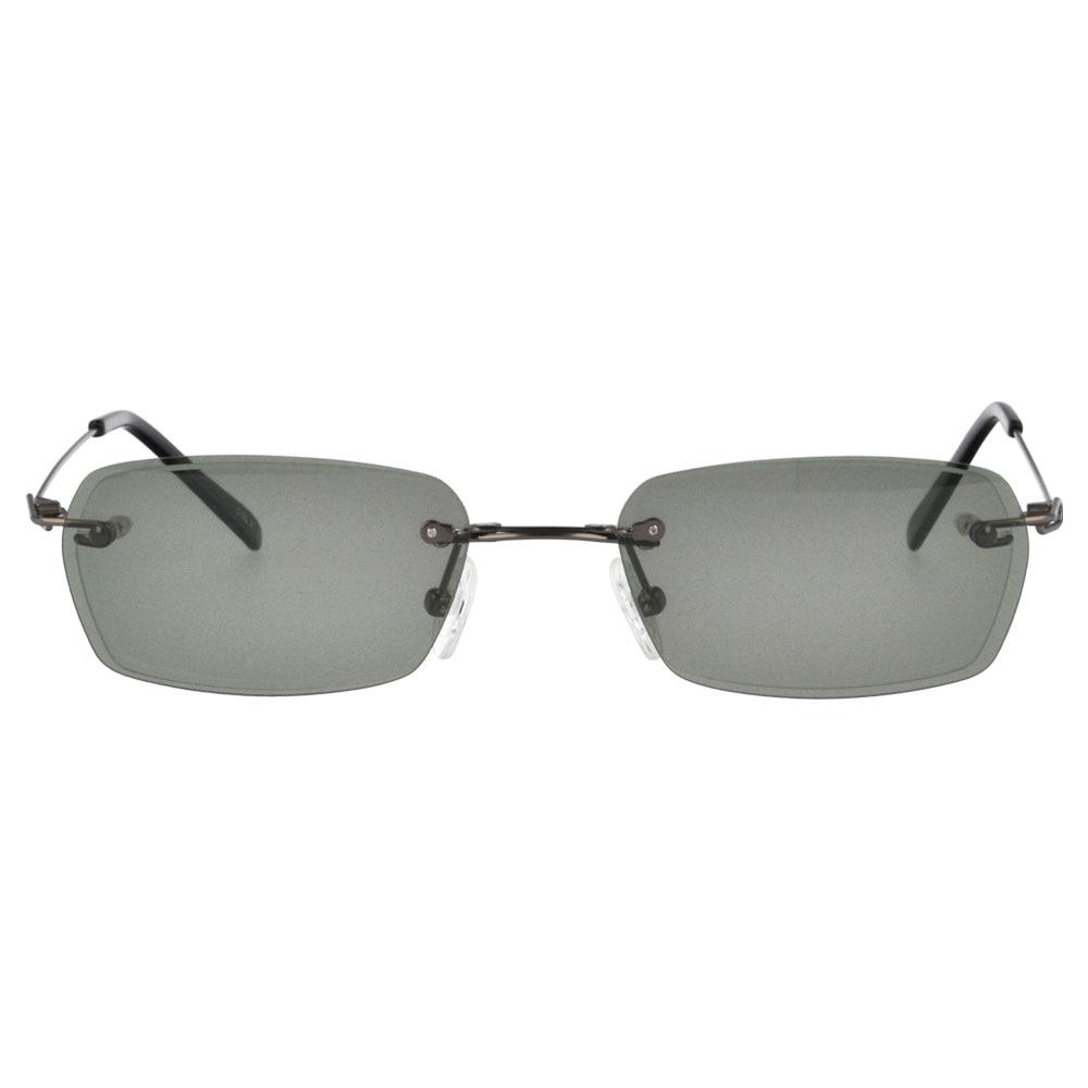 ccaac84560 Anteojos de Metal marco magnético Clip en los vidrios ópticos sin rebordes  miopía hipermetropía gafas prescripción H8302 en Gafas de sol de Accesorios  de ...