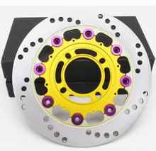 Motorcycle Front & Rear Brake Disc Rotor accessoriesfor BWS ghost fire speed riding RPM220mm