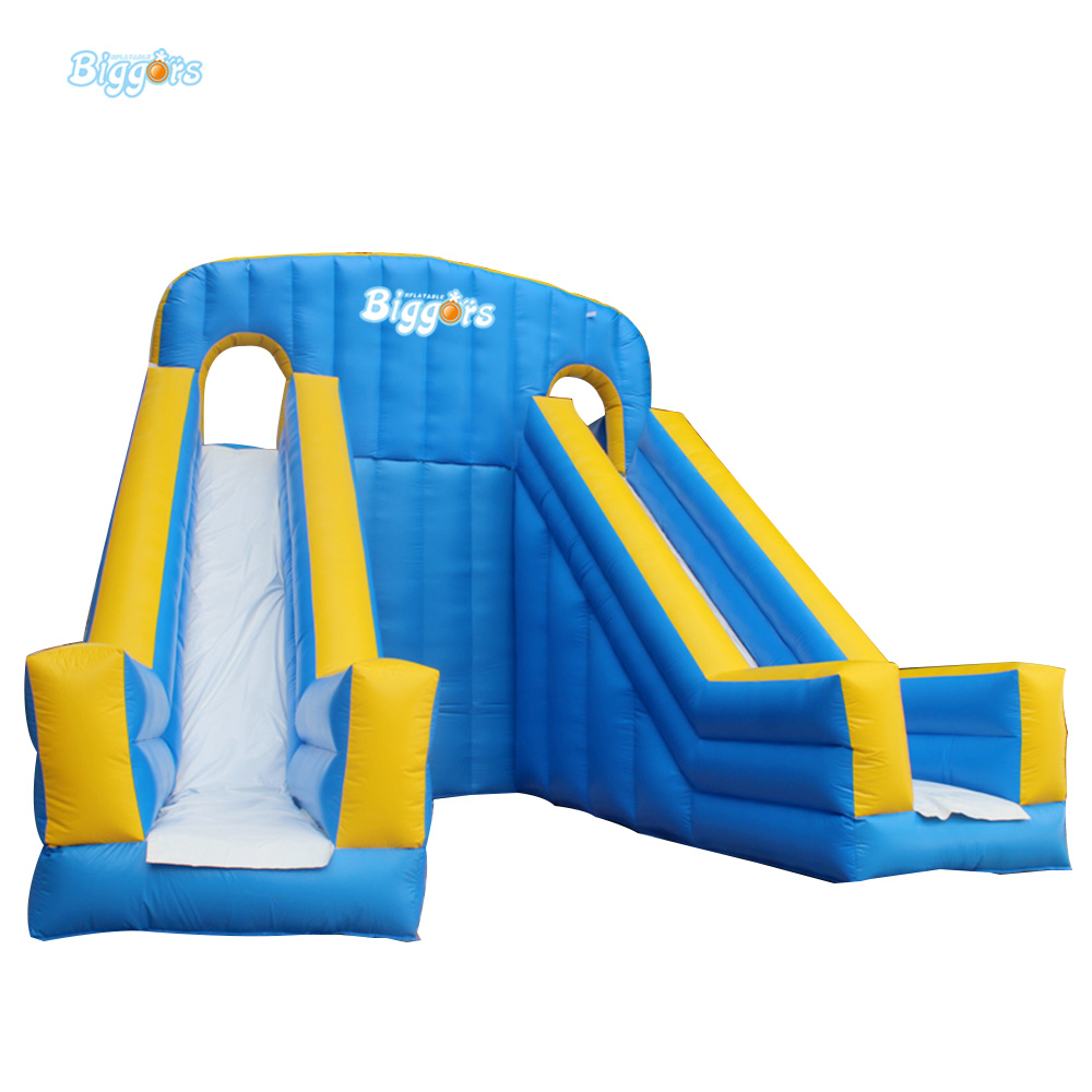 Durable Inflatable Double Dry Slide Inflatable Water Slide With CE And UL Blowers In Stock new inflatable slide wave slide slide ocean hx 886
