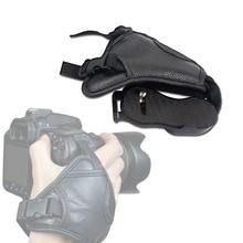 Practical Camera Strap Hand Grip PU Wrist Strap Belt Soft WristBand For Sony Nikon Panasonic SLR Camera Photography Accessories