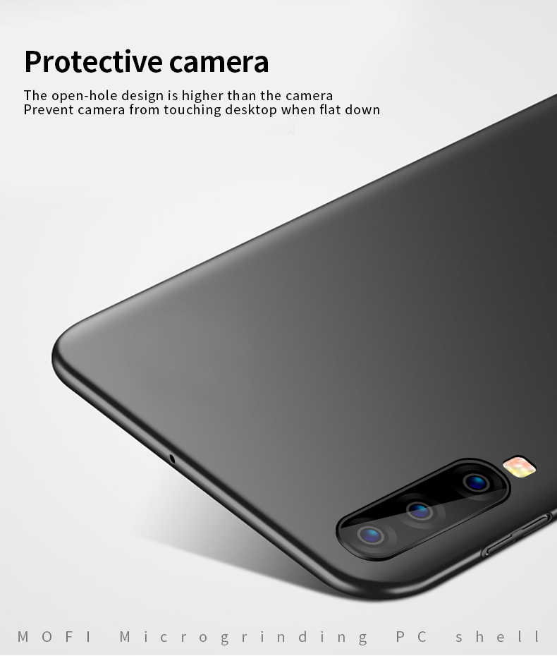 MOFI Samsung Galaxy A10 A30 A40 A70 Kılıf Kapak PC Plastik Sert telefon kılıfı Için Galaxy A40 A70 arka kapak Koruyucu kalkan