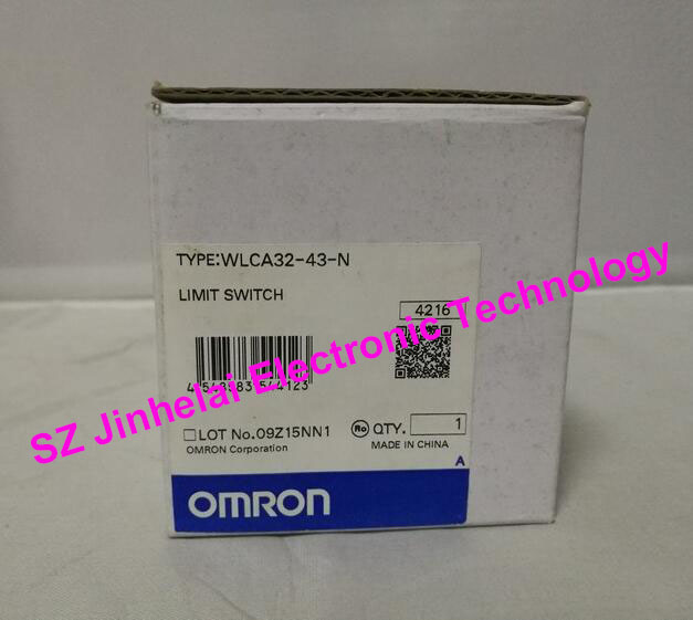 Authentic original OMRON LIMIT SWITCH WLCA32-43-N authentic original omron limit switch d4c 1220