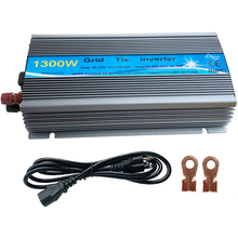 цена на 1300W Grid Tie Solar Inverter, 20-50V DC to AC180-260V Pure Sine Wave Inverter for 1300-1800W 24V, 30V, 36V PV or Wind Power
