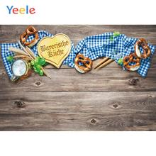 Yeele Oktoberfest Carnival Beer knife fork Wheat Photography Backdrops Personalized Photographic Backgrounds For Photo Studio