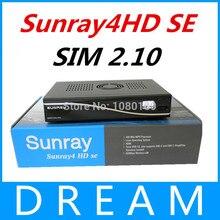 3 unids/lote 3 en 1 Triple sintonizador Receptor de Satélite SR4 Sunray4 800se Sim 2.20 Tarjeta 300 Mbps Construir En Sunray800 envío gratis