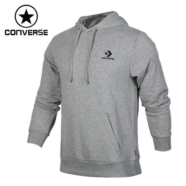 901b523ad3b7 Original New Arrival 2018 Converse Star Chevron Emb PO Hoodie Men s Pullover  Hoodies Sportswear