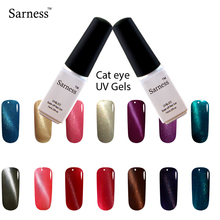 Sarness 3d Cat Eyes Gel Varnish lucky Colors UV Gel Nail Polish Long Lasting 3D Magnet Gel Lacquer nail art Professional