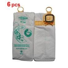 6 pz/lotto di polvere Aspirapolvere HEPA sacchetto Non tessuto borse per vorwerk VK140 FP140 Kobold140 VK150 FP150 Kobold150