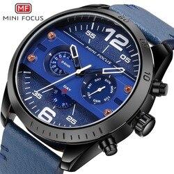 MINIFOCUS mężczyźni oglądać Top luksusowa marka zegarki sportowe męskie zegarek kwarcowy męski zegar Relogio Masculino MF0068G.04