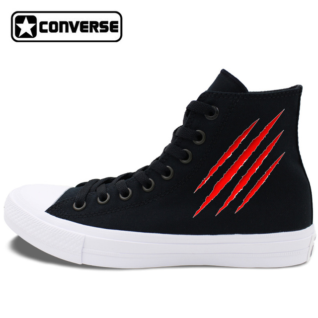 a80d8008ef8f ... good original sneakers men athletic shoes design scratch wound patterns converse  chucks ii high top women
