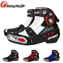 Riding Tribe SPEED BIKERS Motorcycle Racing Riding Boots Motocross Off-Road Boots Shoes Protector Protective Gear