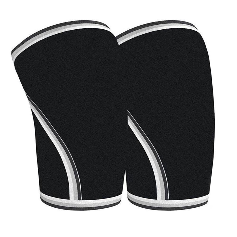 Basketball Knee Pads Sleeve Brace Fitness Running Cycling Support Elastic Kneepad Protective Nylon Sport Compression Sleeve   #D