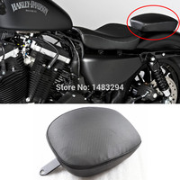 Rear Pillion Cover Rear Passenger Seat Fits For Harley Sportster Forty Eight XL1200X XL1200V 2010 2015