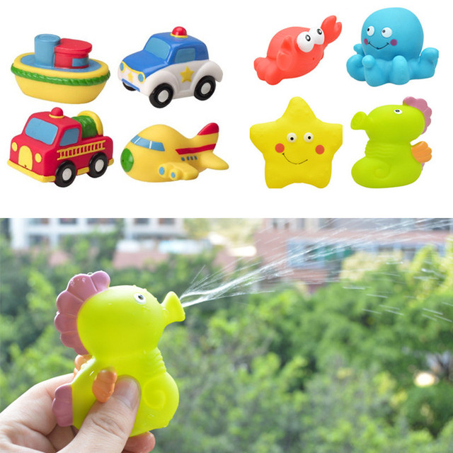 b85e926e4efa0 Classic Water Spray Baby Bath Toys For Children Jouet Bain Kids Bathroom  Water Toys Infant Rubber Toy In The Bathroom Juguetes