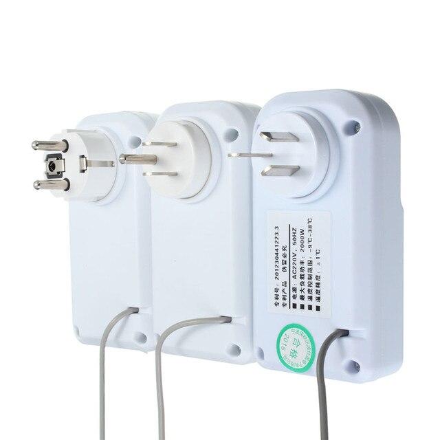 2016 Новое Прибытие 220 В новый ЖК Термостат Регулятор Температуры Аквариум Холодильник Инкубатор