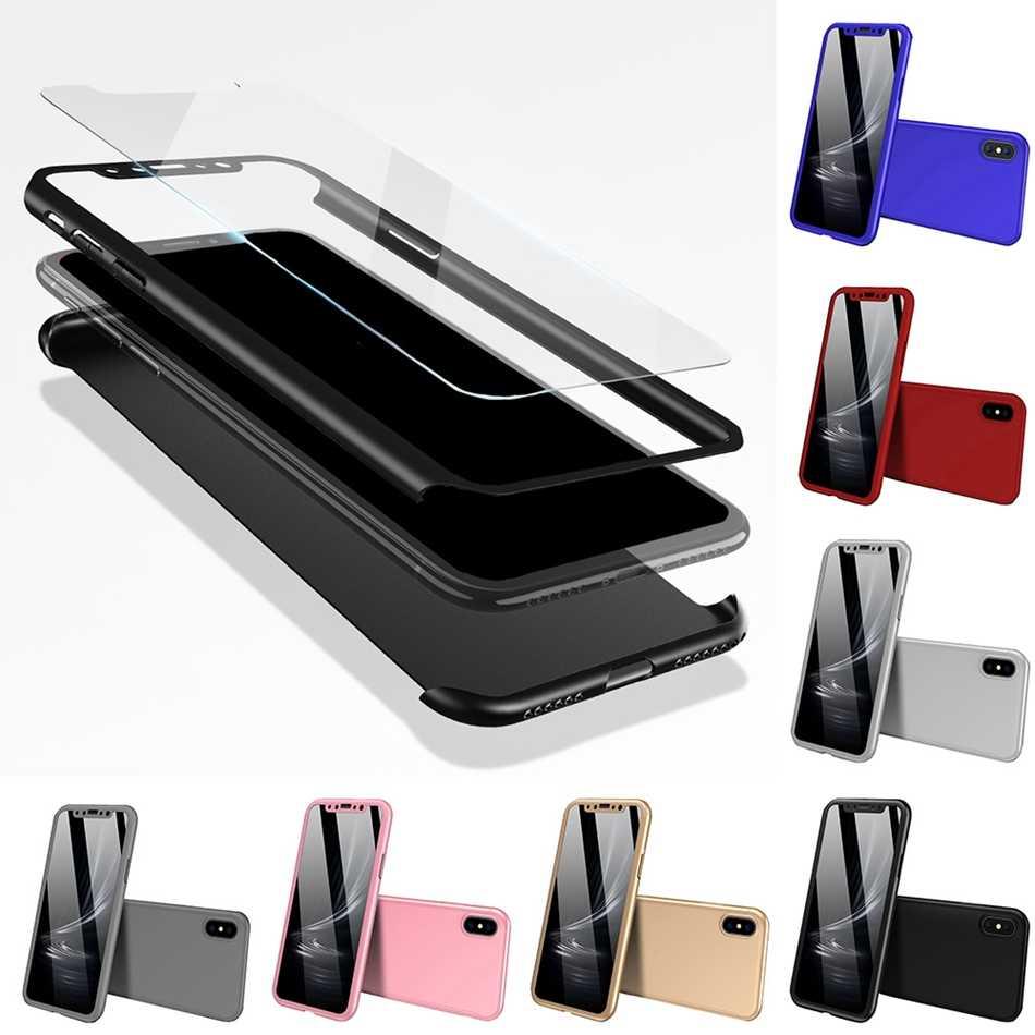 Kisscase Tất Cả-Đã Bao Gồm Ốp Lưng Điện Thoại Samsung S8 S9 Plus S10 Plus S10E Full Độ Phủ Trường Hợp Note 8 9 s6/S7 Edge J6/J7 Với Bộ Phim