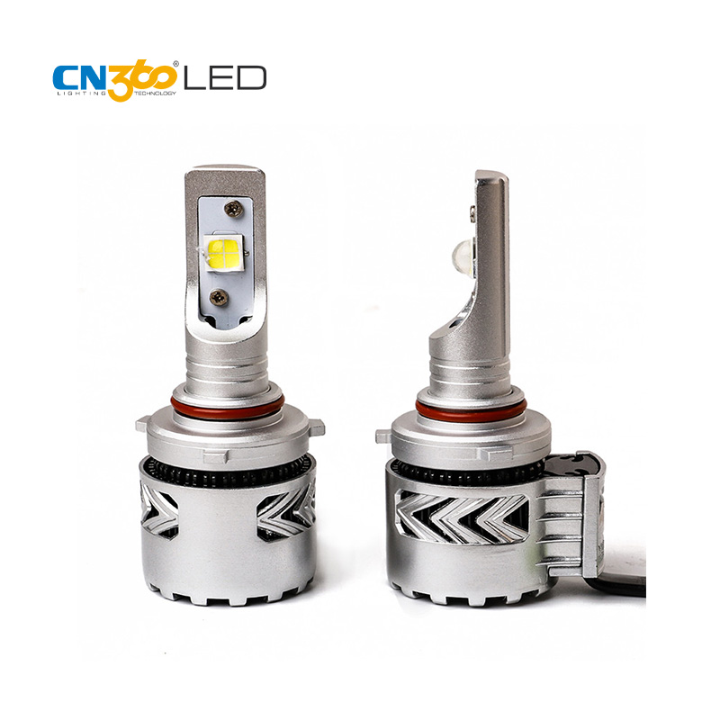 CN360 2PCS 2016 Latest LED 9005 HB3 Car LED Headlight Lamp With CREE Chip 12000LM Super Bright Plug & Play With Cooling Fan