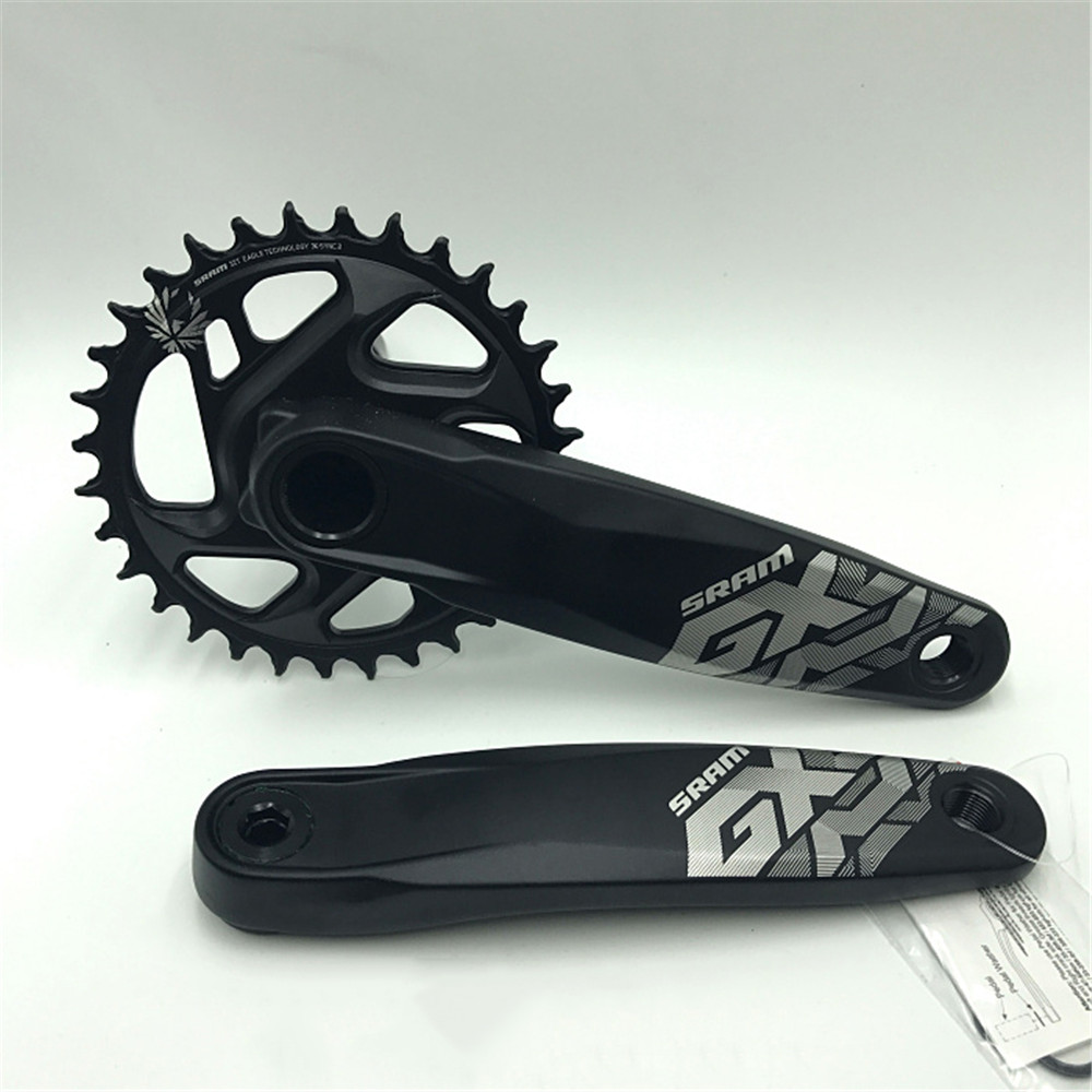 Original! SRAM GX EAGLE 32T 34T 170mm 175mm 12S MTB Bicycle Crankset Without GXP Bottom Bracket 2012 sram red exogram bb30 167 5mm 34 50 crankset bottom bracket not included