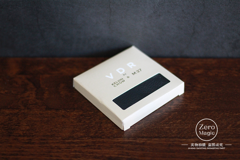 Free Shipping VDR Plus+ By Kelvin Chow Magic Tricks Magic Props Mentalism,Close Up Street Magic,Gimmick,Magic Coin Wallet